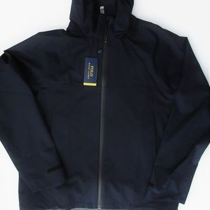 Ralph Lauren Water Resistant Hooded Jacket Navy